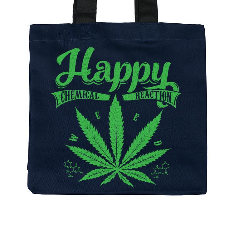 Torba z liściem marihuany