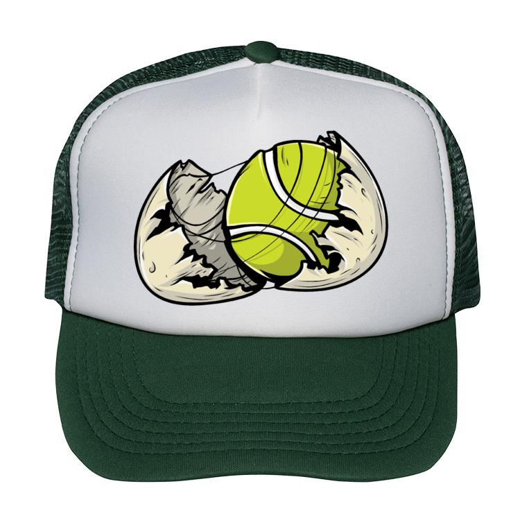 Czapka dla świeżo upieczonego tenisisty
