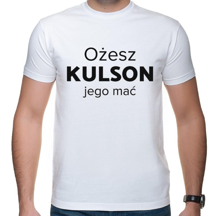 Koszulka Kulson jego mać