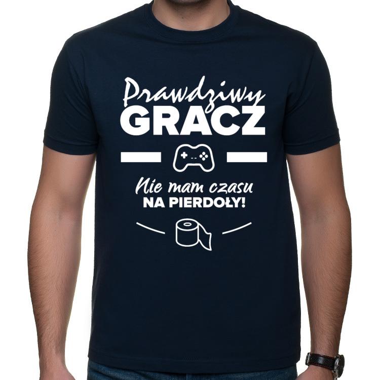Koszulka dla gracza - biały nadruk